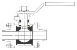 Ball Valves - Weld Type - Hygienic Fittings