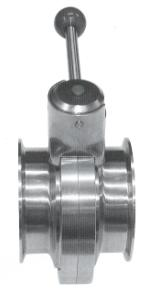 Butterfly Valves - Clamp Type - Hygienic Fittings