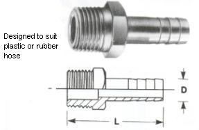 Hose Connectors - Screwed Fittings