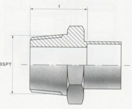Male Screw Thread Connectors - BSP Taper