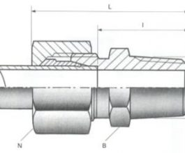 Male Stud Couplings - NPT Thread