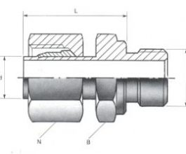 Male Standpipe Adaptors - BSPP Thread