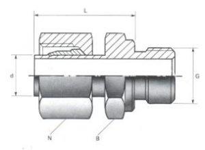 Male Standpipe Adaptors - BSPP Thread