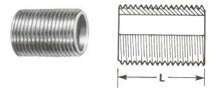 Parallel Nipples - Screwed Fittings